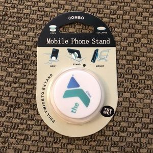 NWT YMCA Blue and Green Logo Pop Socket Stand